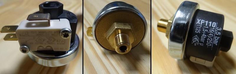 Pressostat 3 5 bars pour centrale vapeur astoria rc350a - Centrale vapeur 7 bars ...