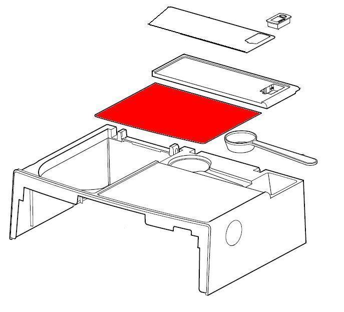 plaque sup rieure pour l 39 expresso filtre auto magimix. Black Bedroom Furniture Sets. Home Design Ideas