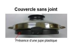 couvercle de la cuve pâtissier pour robot Magimix Pâtissier Multifonction 6200 XL