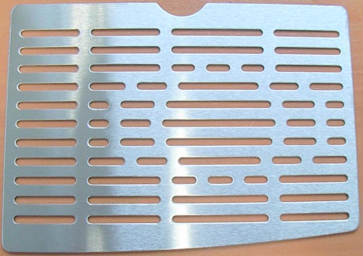 grille repose tasse pour combin cafeti re expresso. Black Bedroom Furniture Sets. Home Design Ideas
