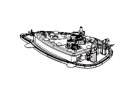 semelle pour fer repasser rowenta professional dw8109 miss. Black Bedroom Furniture Sets. Home Design Ideas