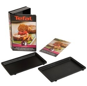 Coffret plaques pain perdu snack collection tefal miss - Plaque tefal snack collection ...