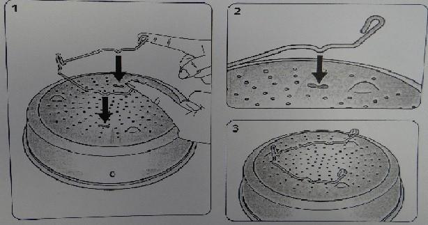 panier vapeur pour clipso 4 4 5 6l seb miss. Black Bedroom Furniture Sets. Home Design Ideas