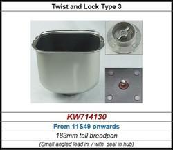 Cuve pour BM450 Kenwood série après 11S49 référence KW714130