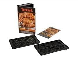Coffret plaques gaufre coeur snack collection tefal miss - Plaque tefal snack collection ...