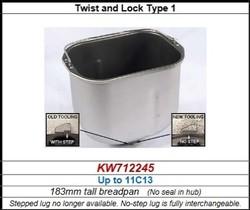 Cuve pour BM450 Kenwood série avant 11C13 référence KW712245