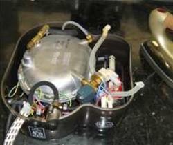 chaudiere ancienne génération nettoyeur vapeur POLTI PLEU0123