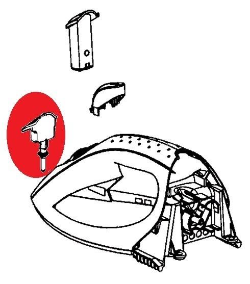tige anti calcaire pour fer repasser calor supergliss. Black Bedroom Furniture Sets. Home Design Ideas
