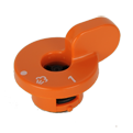 P431 Clipso One - Soupape orange