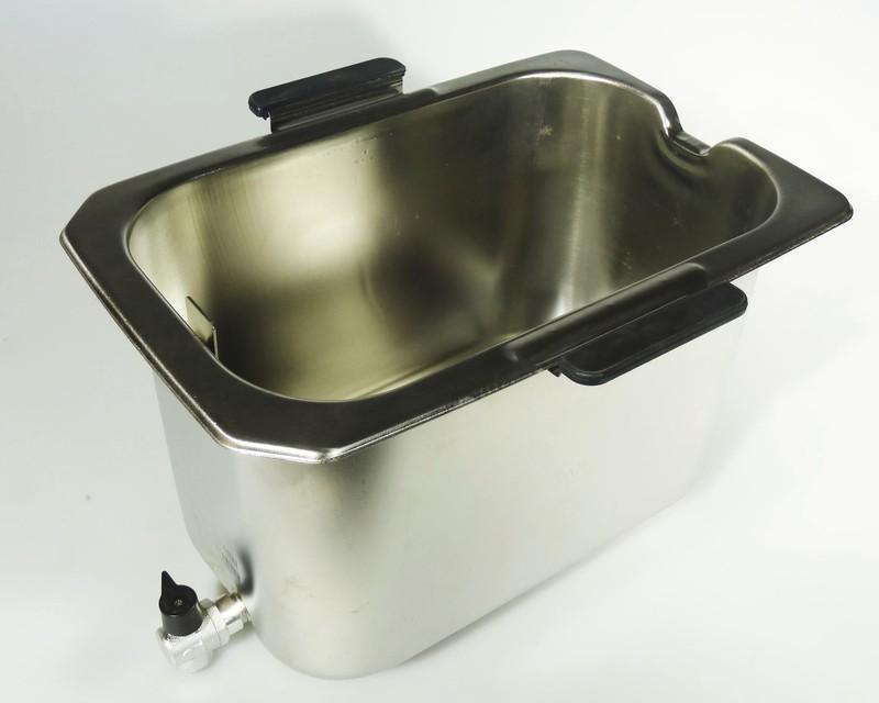 cuve amovible avec robinet de vidange pour friteuses delonghi miss. Black Bedroom Furniture Sets. Home Design Ideas