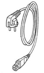 cable d 39 alimentation pour centrale vapeur polti vaporella pratica pleu0078 miss. Black Bedroom Furniture Sets. Home Design Ideas