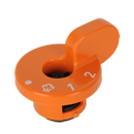 P424 Clipso One - Soupape orange
