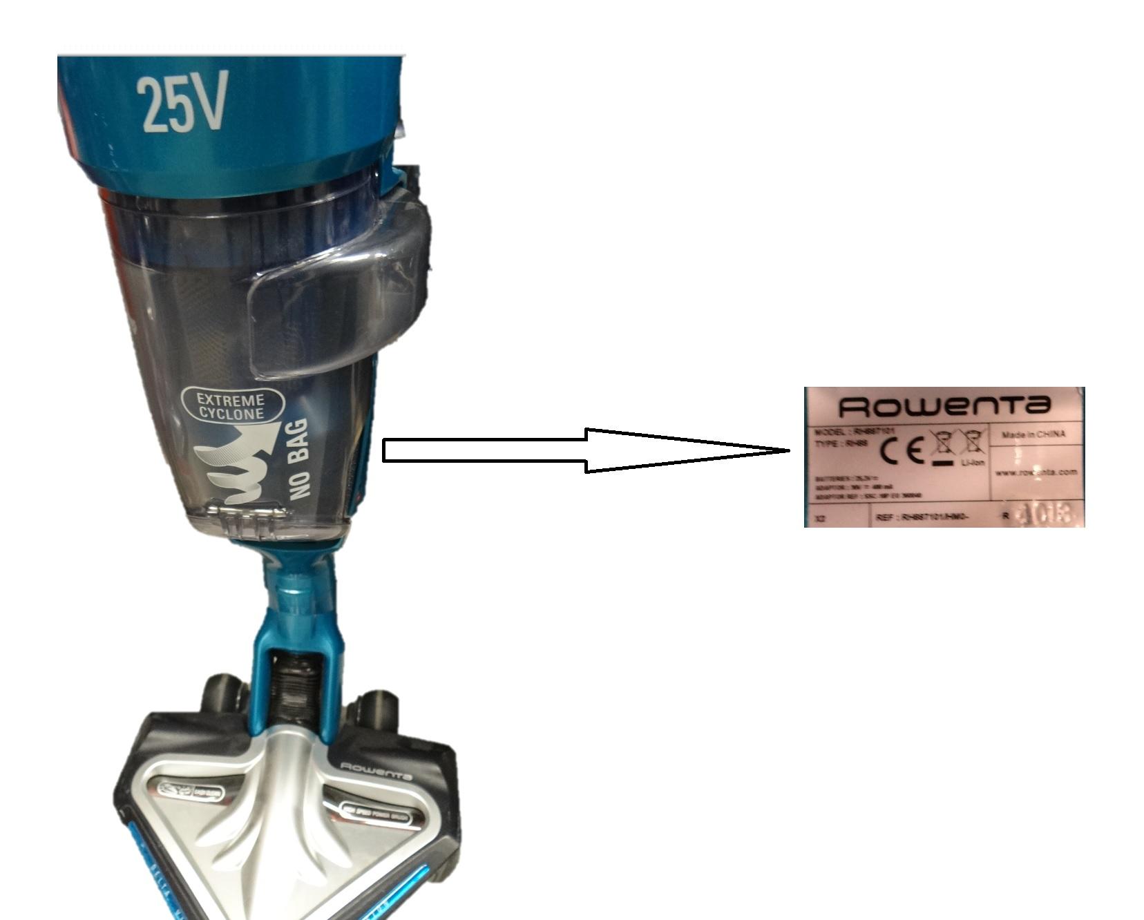 Identifier le mod le d 39 un appareil rowenta pour trouver les pi ces d tach es miss - Appareil pour rafraichir piece ...